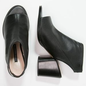 French Connection Cilly Open Toe Bootie Heel